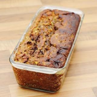 Chocolate Zucchini Walnut Bread.