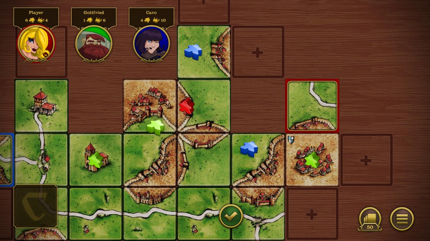 Carcassonne screenshot #9