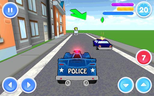 【免費動作App】警車司機 停車場-APP點子