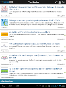 VCCircle_Tab- screenshot thumbnail