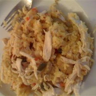 Awesome Chicken and Yellow Rice Casserole.