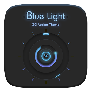 Blue Light GO Locker Theme APK