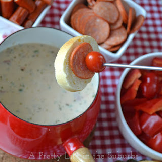 Easy Pizza Fondue