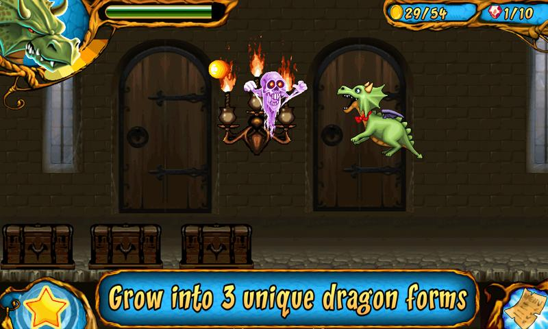 Dragon & Dracula: platformer - screenshot