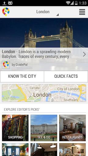 伦敦城市指南