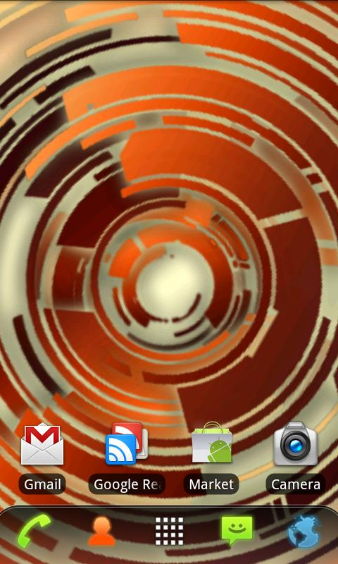 RLW Theme Dust Tech- screenshot
