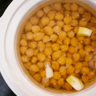 Slow-Cooker Chickpeas Recipe