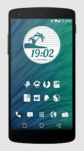 Whicons - White Icon Pack - screenshot thumbnail