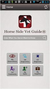 Horse Side Vet Guide - náhled