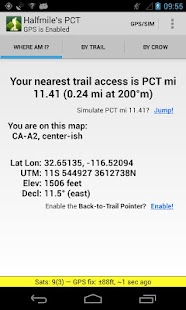 Halfmile's PCT- screenshot thumbnail