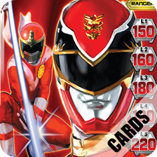 Power Ranger Puzzle Cards