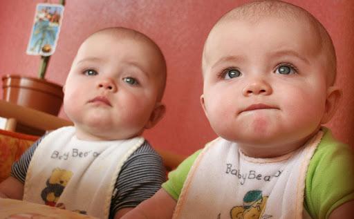 双子の赤ちゃん パズル