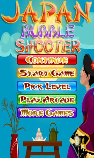 Japan bubble shooter