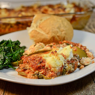 Vegetarian Lasagna (Gluten Free)