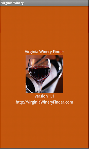 Virginia Winery Finder: Tablet