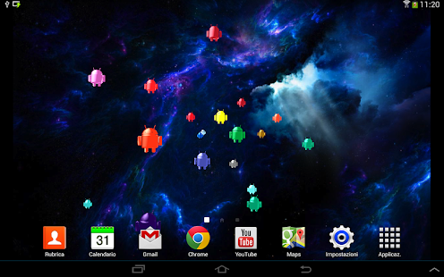 Droid Invasion 3D-Wallpaper- screenshot thumbnail