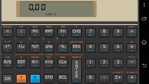 【免費財經App】Andro12C Black-Scholes Edition-APP點子