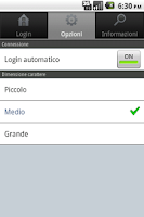 Screenshot of InfoAsilo