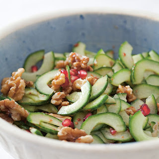 Cucumber and Walnut Salad (Hiyar Salatasi)