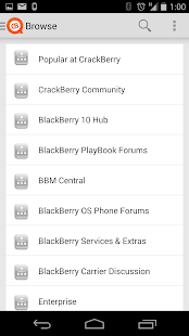 CrackBerry Forums - screenshot thumbnail
