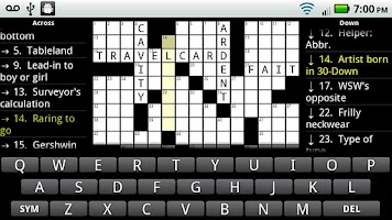 Screenshot of Crosswords Plus