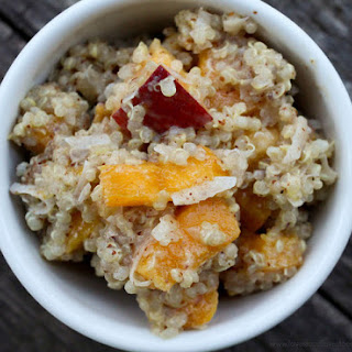 Nutty Tropical Breakfast Quinoa.