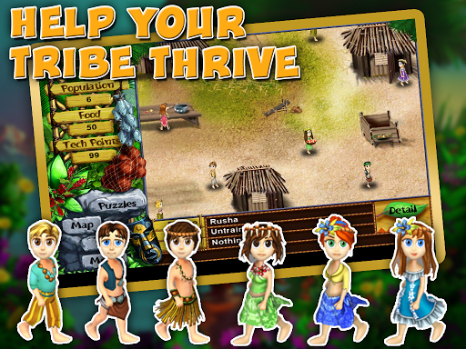 how to get food on virtual villagers origins