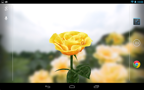 玩個人化App|3D Rose Live Wallpaper免費|APP試玩