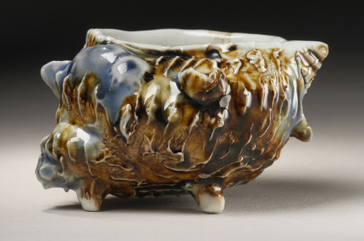Sake Cup in the Form of a Shell