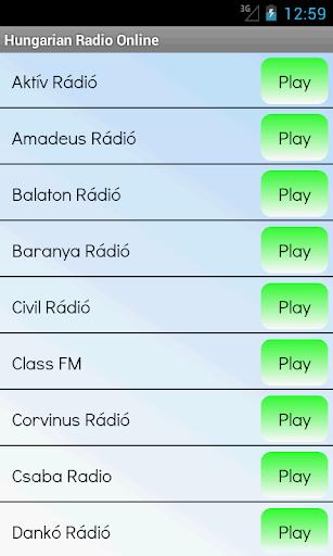 匈牙利電台在線