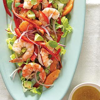 Marinated Shrimp Salad with Avocado.