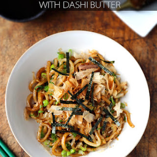 Yaki Udon with Dashi Butter
