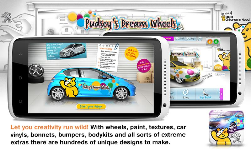 Pudsey's Dream Wheels- screenshot