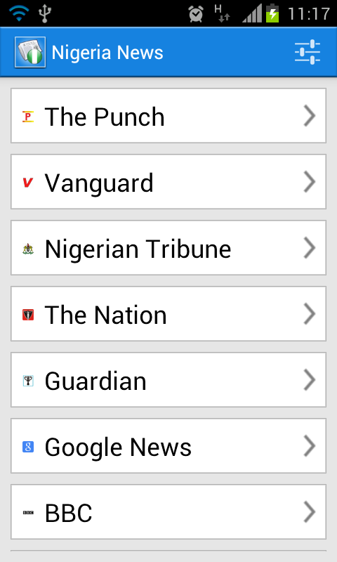 Nigeria News - screenshot