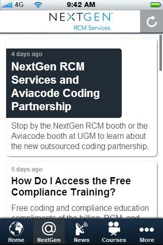 NextGen RCM eLearning