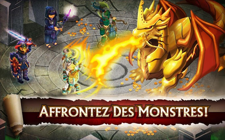 android Knights & Dragons - Action RPG Screenshot 10