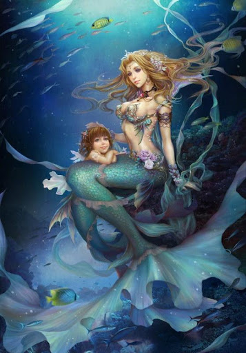 Fantasy Mermaid Wallpaper