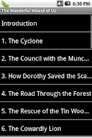 Screenshot of The Wonderful Wizard of Oz