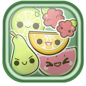 Kawaii Fruits Go Launcher EX