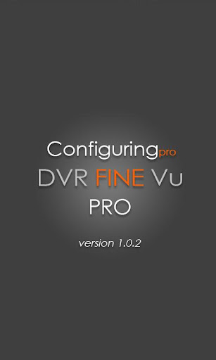 FineVu PRO configuringPRO