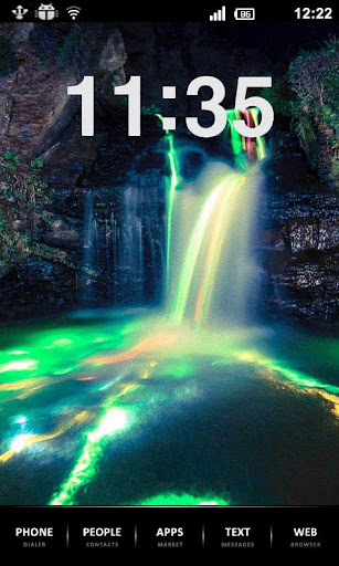 5D Waterfall Live Wallpaper