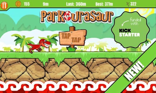 Parkourasaur- screenshot thumbnail