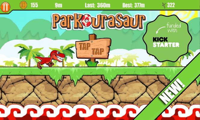 Parkourasaur- screenshot