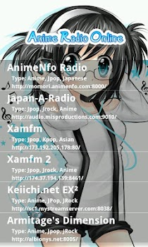 Anime Radio Online