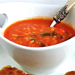 Tomato and Rice Soup.