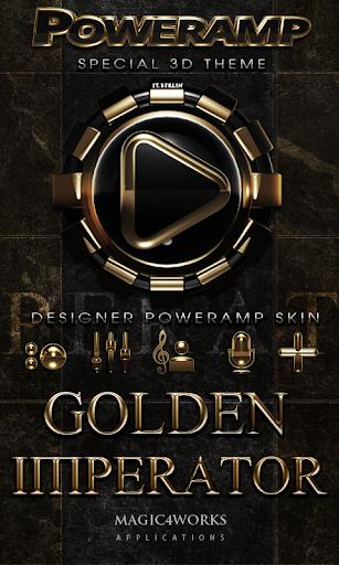 Poweramp skin IMPERATOR