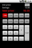 Screenshot of Discount Calculator - Simple