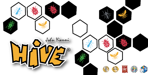 Hive™ board game for two 蜂巢