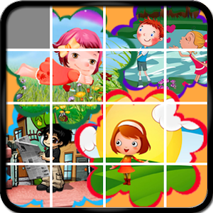 Cartoon Sliding Puzzle Game for PC and MAC