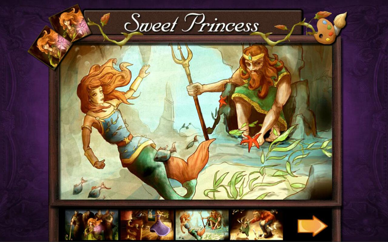Sweet Princess Jigsaw amp Game Android Apps On Google Play